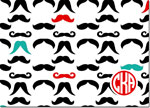 Devora Designs - Stationery (Mustaches) - From More Than Paper