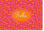 Devora Designs - Stationery (Orange Nantucket Leopard) - From More Than Paper