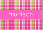 Devora Designs - Stationery (Pink Plaid) - From More Than Paper