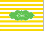 Devora Designs - Stationery (Sunflower Stripes) - From More Than Paper
