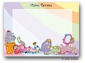 Dinky Designs Flat Note Stationery - Girls Will Be Girls