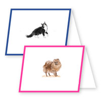 Choose-Your-Pet Foldover Stationery