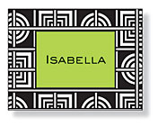Inkwell - Folded Note Stationery (Graphix Black)