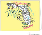 Inviting Co. - Stationery/Thank You Notes (Florida Map)