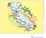 Inviting Co. - Stationery/Thank You Notes (California Map)
