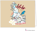 Inviting Co. - Stationery/Thank You Notes (Idaho Map)