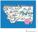 Inviting Co. - Stationery/Thank You Notes (Montana Map)