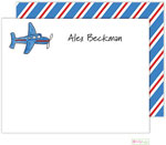 Kelly Hughes Designs - Stationery (Airplane)