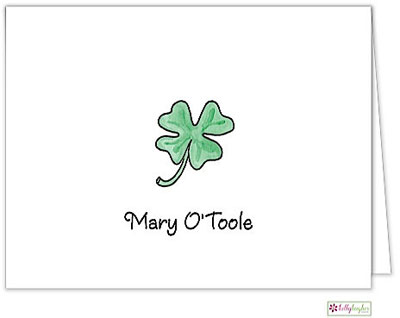 Kelly Hughes Designs - Stationery (Lucky Clover)