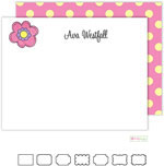 Stationery/Thank You Notes by Kelly Hughes Designs (Pink Daisy)