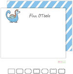 Kelly Hughes Designs - Stationery (Blue Dinosaur)