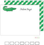 Kelly Hughes Designs - Stationery (Green Gator)