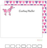 Stationery/Thank You Notes by Kelly Hughes Designs (Pink Poodle)
