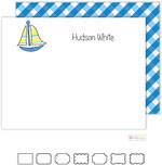 Stationery/Thank You Notes by Kelly Hughes Designs (Sailboat)