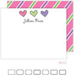 Stationery/Thank You Notes by Kelly Hughes Designs (Hearts Are Wild)