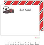 Stationery/Thank You Notes by Kelly Hughes Designs (Soccer Stud)