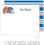 Kelly Hughes Designs - Stationery (Football Fanatic)