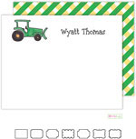 Stationery/Thank You Notes by Kelly Hughes Designs (Green Tractor)