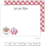 Kelly Hughes Designs - Stationery (Farm Friends)