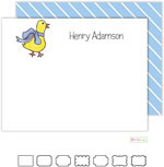 Kelly Hughes Designs - Stationery (Ducklings In Blue)