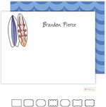 Stationery/Thank You Notes by Kelly Hughes Designs (Surfer Dude)