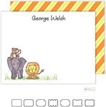 Stationery/Thank You Notes by Kelly Hughes Designs (Zoo Friends)