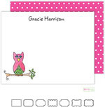 Stationery/Thank You Notes by Kelly Hughes Designs (What A Hoot)