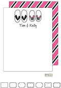 Kelly Hughes Designs - Stationery (Flip Flops)