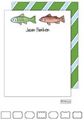 Kelly Hughes Designs - Stationery (Gone Fishing)