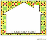 Little Lamb Design Stationery - Colorful House Boy