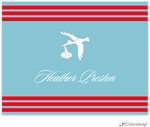 Little Lamb Design Stationery - Blue Stork