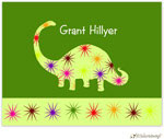 Little Lamb Design Stationery - Dinosaur