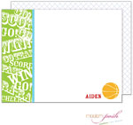 Modern Posh Stationery/Thank You Notes - Basketball