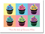 Noteworthy Collections - Stationery (Artsy Cupcakes)
