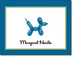 Noteworthy Collections - Stationery (Balloon Animal Blue)