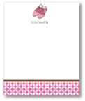 Polka Dot Pear Design - Correspondence Cards (Golf Shoes)