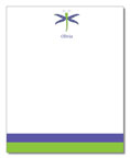 Polka Dot Pear Design - Correspondence Cards (Dragonfly)