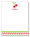 Polka Dot Pear Design - Correspondence Cards (Cherries)