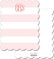 PicMe Prints - Stationery/Thank You Notes (Broad Stripes Blush)
