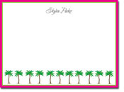 Chatsworth Robin Maguire - Stationery/Thank You Notes (Palm Trees)