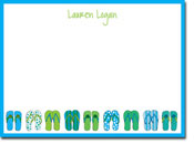 Chatsworth Robin Maguire - Stationery/Thank You Notes (Flip Flops)