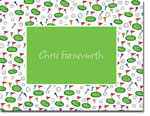 Chatsworth Robin Maguire - Stationery/Thank You Notes (Golf Border)