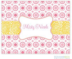 Rosanne Beck Stationery - Bella - Pink