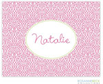 Rosanne Beck Stationery - Ornate Floral - Pink