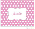 Rosanne Beck Stationery - Cupcake - Pink