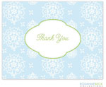Rosanne Beck Stationery - Cute Floral - Blue