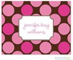 Rosanne Beck Stationery - Dippin Dots - Pink