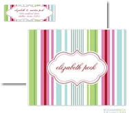 Rosanne Beck Stationery - Manhattan - Pink