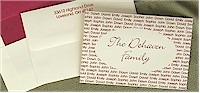 Rytex Stationery - Oval Family Foldnotes