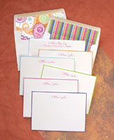 Rytex Stationery - Hand Bordered Cards Assortment (Colorful)